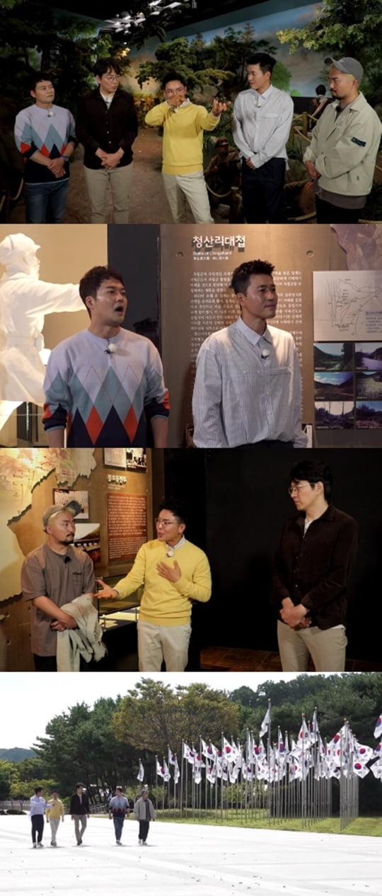 선녀들 김좌진 홍범도 청산리 대첩(사진= MBC '선을 넘는 녀석들-리턴즈' )
