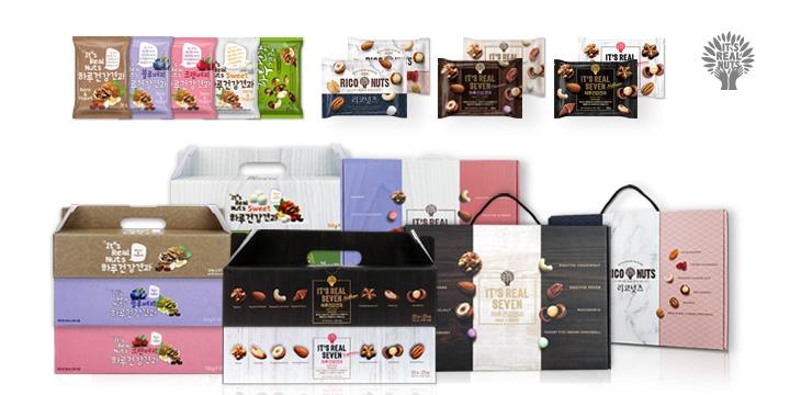 [2020 한국소비자만족지수 1위] 견과 전문 브랜드, 잇츠리얼넛츠