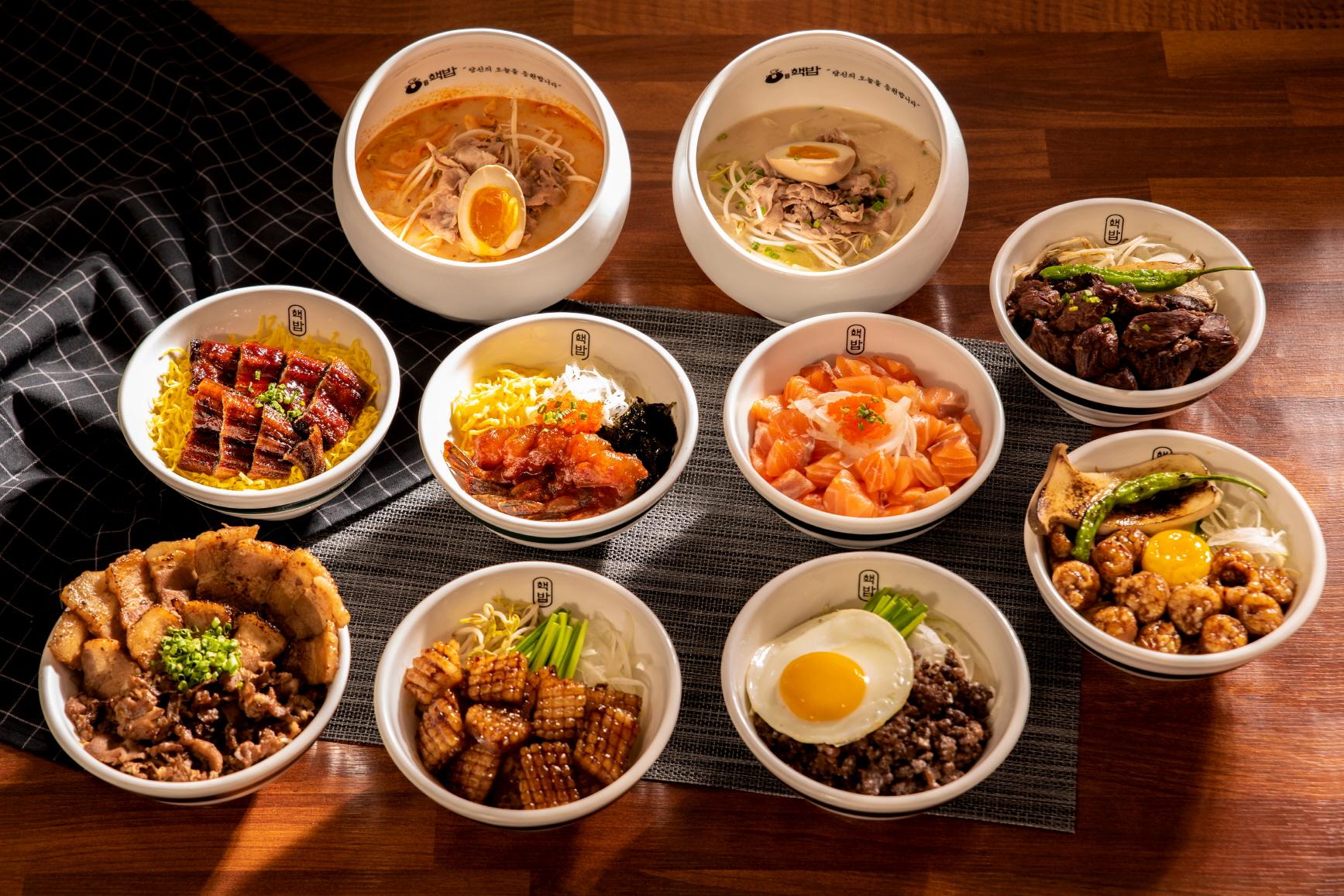 [2020 한국소비자만족지수 1위] 덮밥 프랜차이즈, 핵밥