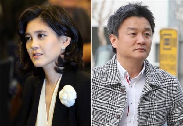 (좌측부터) 이부진 호텔신라 사장, 임우재 전 삼성전기 고문/사진=연합뉴스