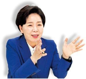 여상 출신으로 삼성 임원 올랐던 양향자 더불어민주당 의원   /사진=신경훈 기자    khshin@hankyung.com