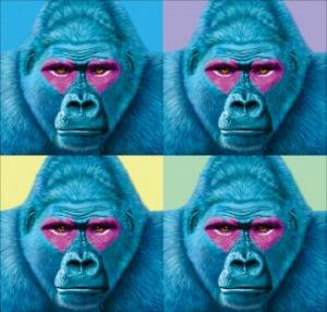 핑크빛 하트…동물 눈동자에 담긴 생명의 반짝임