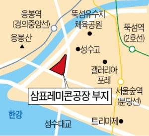 """뚝섬 레미콘공장 옮길 곳 없는데…서울시 """"빨리 나가라"""""""