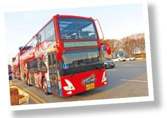 월미바다열차가 운행되는 모습.  인천교통공사 제공