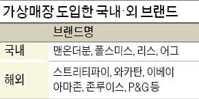"""""""백화점 매장과 똑같네""""…가상쇼핑 경쟁 본격화"""