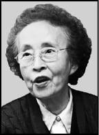 국내 대표 여성신학자 박순경 박사 별세