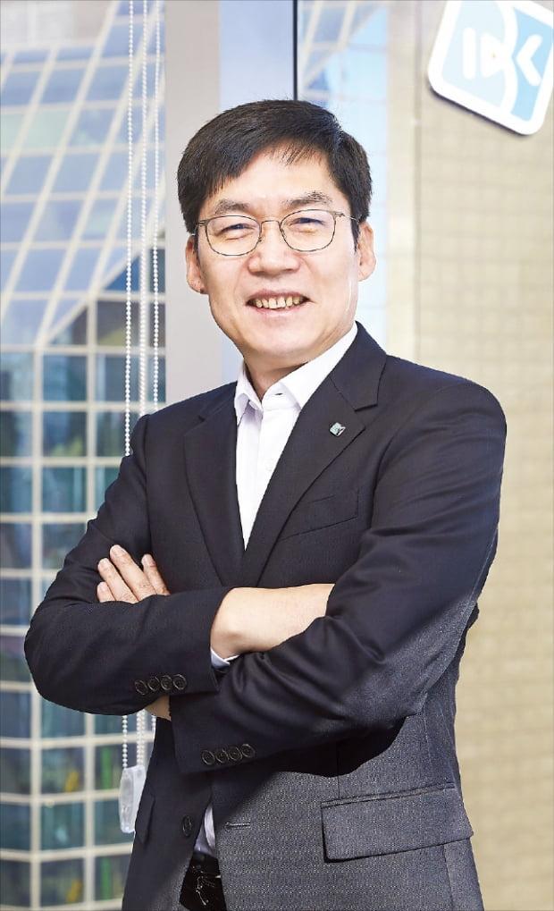 """김형일 기업은행 부행장 """"친환경·스마트·융복합 산업에 1.5兆 지원…中企 - VC 매칭 도와"""""""