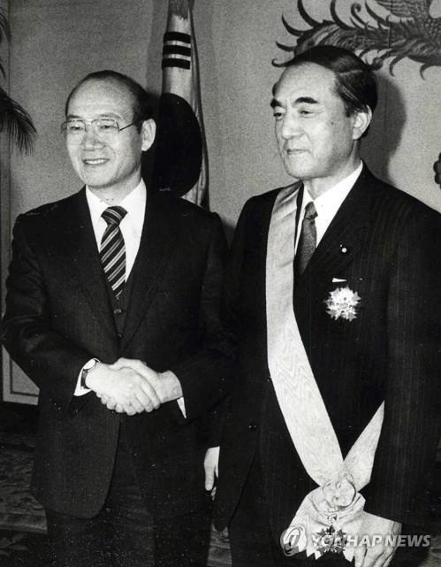 日 나카소네 전 총리 장례식…남관표 주일대사 참석