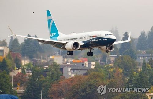 """추락사고 보잉 737맥스 돌아온다…아메리칸항공, """"연말 투입"""""""