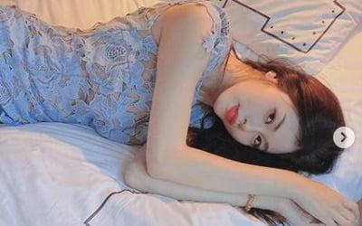 """서동주, 침대 누워 뽐낸 S라인 """"인생샷 건짐"""""""