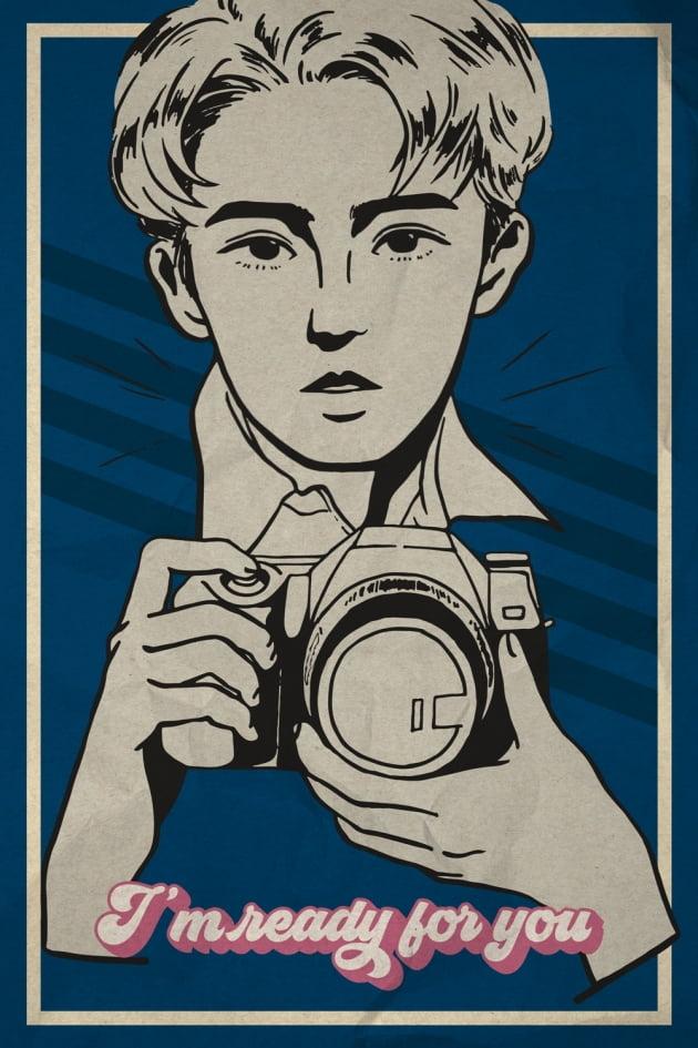 그룹 세븐틴의 레트로 포스터 / 사진제공=플레디스엔터테인먼트