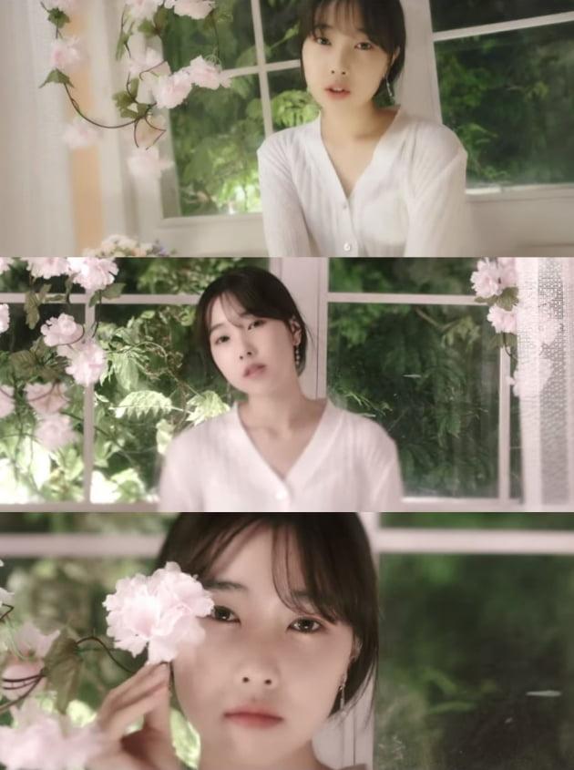 가수 하연의 '아이즈 온 유' 뮤직비디오 캡처
