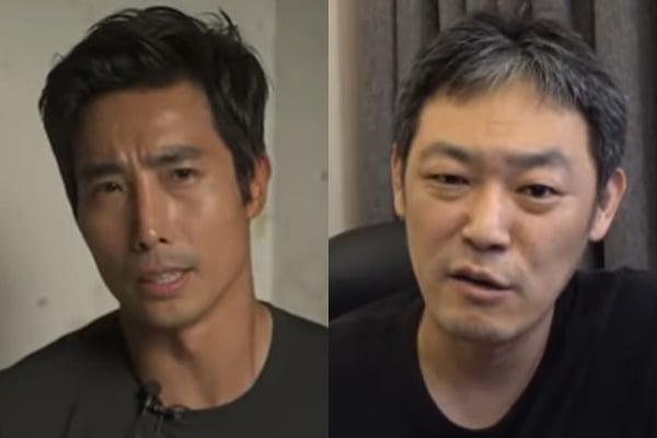 이근 대위 (왼쪽)와 유튜버 김용호/ 사진= 유튜브 캡처
