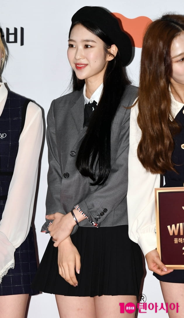 [TEN 포토] 오마이걸 지호 '상큼한 미소'(브랜드대상)