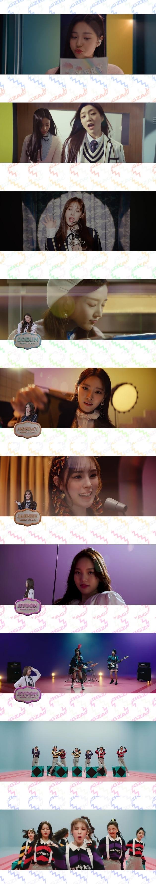사진 = 위클리 '지그재그' 뮤직비디오 캡처