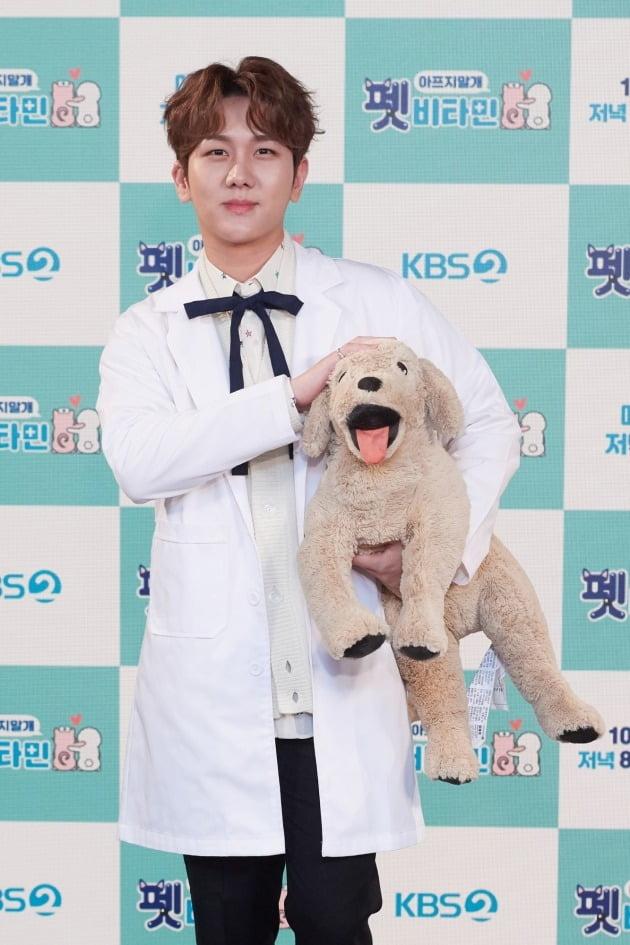 '펫 비타민' MC 김수찬/ 사진=KBS2 제공