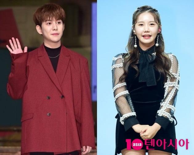 가수 박경(왼쪽), 송하예 / 사지=텐아시아DB