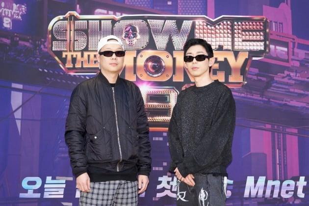 '쇼미더머니9' 프로듀서 팔로알토(왼쪽), 코드쿤스트/ 사진=Mnet 제공