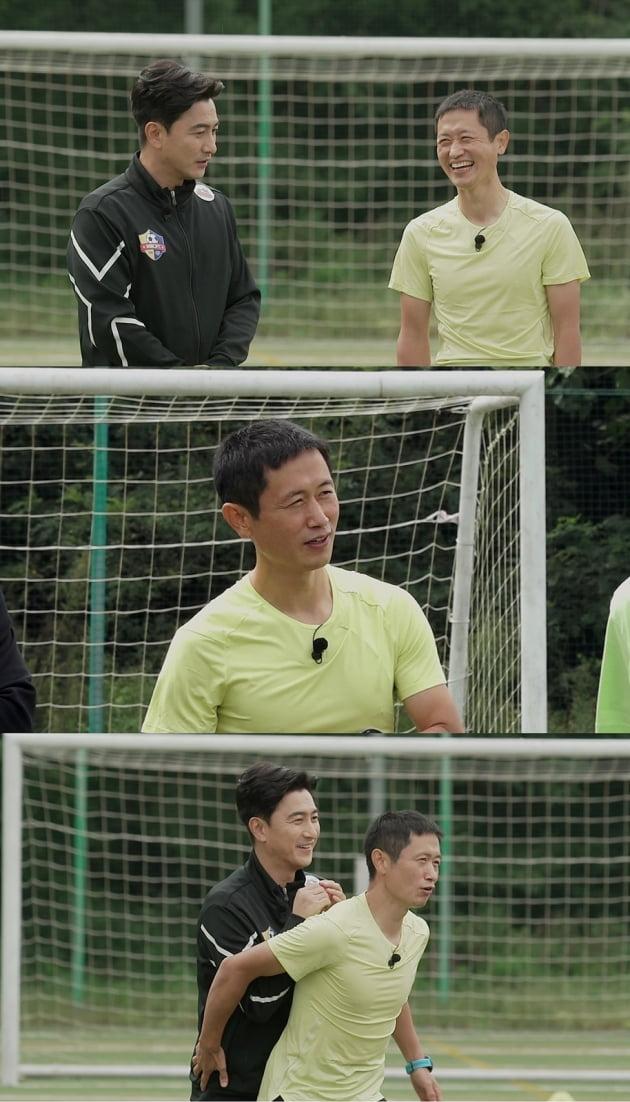 '뭉쳐야찬다' 이영표 편/ 사진= JTBC 제공