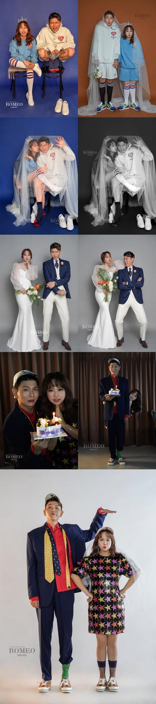 홍현희·제이쓴 부부 결혼 2주년 기념 웨딩 화보 / 사진제공=해피메리드컴퍼니