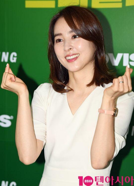 배우 한혜진/ 사진=텐아시아DB