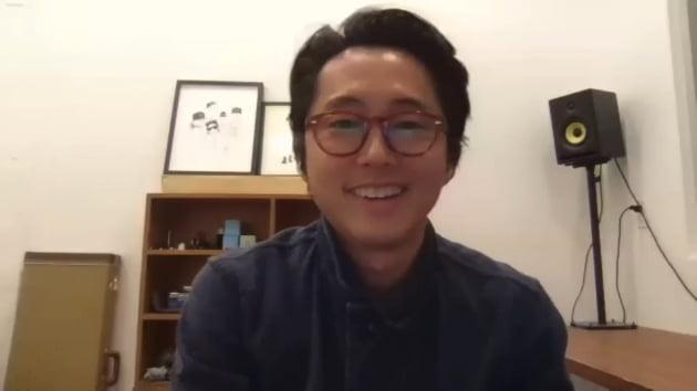23일 오후 온라인을 통해 부산국제영화제 갈라프레젠테이션 영화 '미나리'의 기자회견이 열렸다. / 사진제공=부산국제영화제