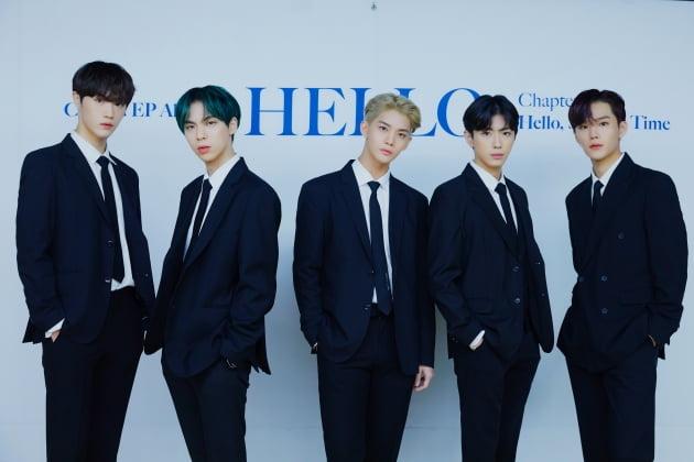 그룹 CIX의 현석(왼쪽부터) BX, 배진영, 용희, 승훈 / 사진제공=C9엔터테인먼트