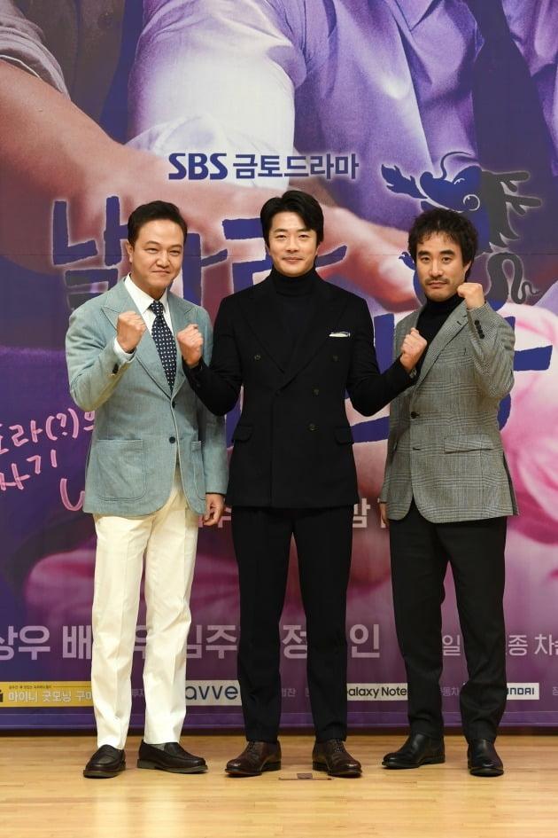 '날아라 개천용' 정웅인(왼쪽부터), 권상우, 배성우/ 사진=SBS 제공