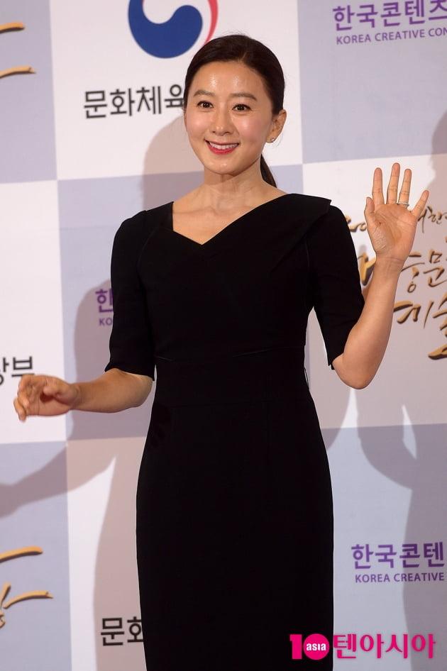 [TEN 포토] '대중문화예술상' 김희애, '우아한 아름다움'