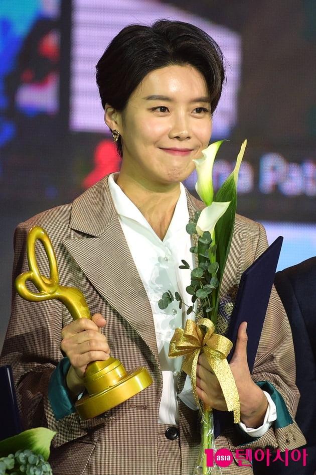 [TEN 포토] '2020 대중문화예술상' 장도연 '웃음기 빼니 미모만 남았다'