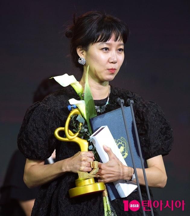[TEN 포토] '2020 대중문화예술상' 공효진, '수상 소감도 러블리'