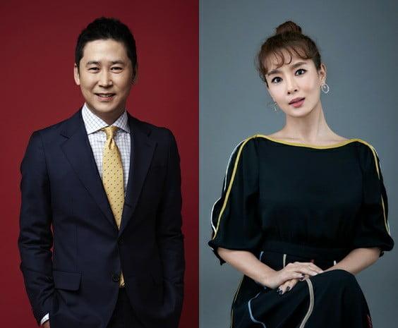 방송인 신동엽, 김원희/ 사진= SM엔터테인먼트, 크리에이티브그룹 아이엔지 제공