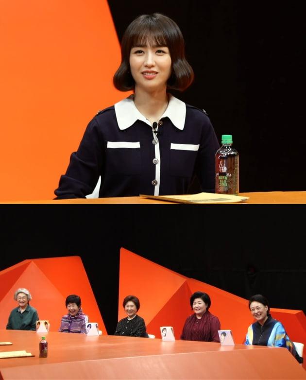 '미우새' 특별 MC로 출연한 배우 박하선/ 사진=SBS 제공