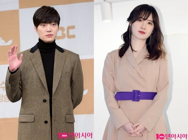 배우 안재현(왼쪽)과 배우 구혜선. /텐아시아DB
