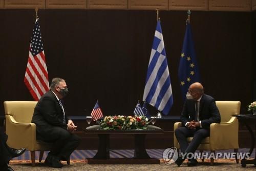 미, 동지중해 그리스에 초대형 이동식 해상기지함 배치