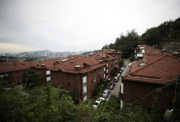 서울 시내 다세대주택 밀집 지역(사진=연합뉴스)