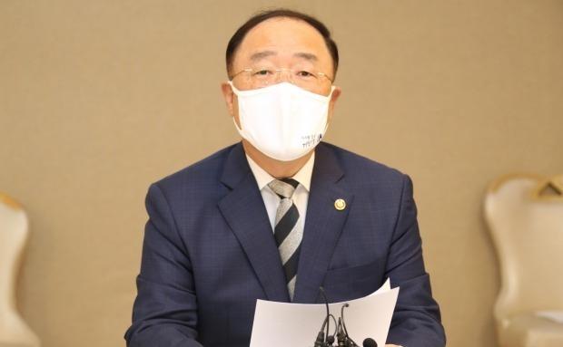 홍남기 부총리 겸 기획재정부 장관(사진=연합뉴스)