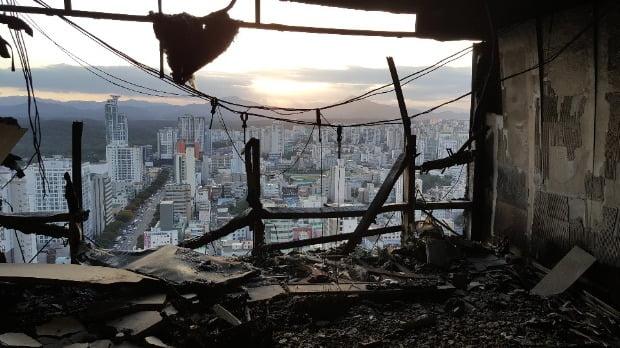 울산시 남구 삼환아르누보 주상복합아파트의 내부 모습.(사진=연합뉴스)