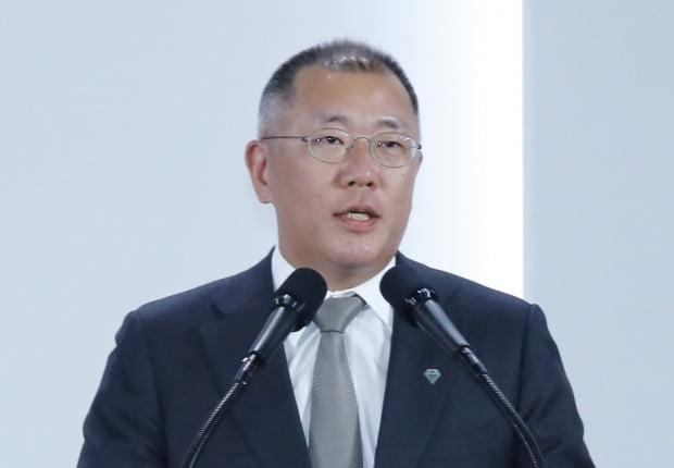 현대차그룹 회장직에 오르는 정의선 수석부회장. 사진=연합뉴스