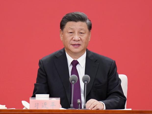 시진핑 중국 국가주석이 지난 14일 광둥성 선전에서 열린 선전경제특구 40주년 기념식에서 연설하고 있다. 사진=연합뉴스