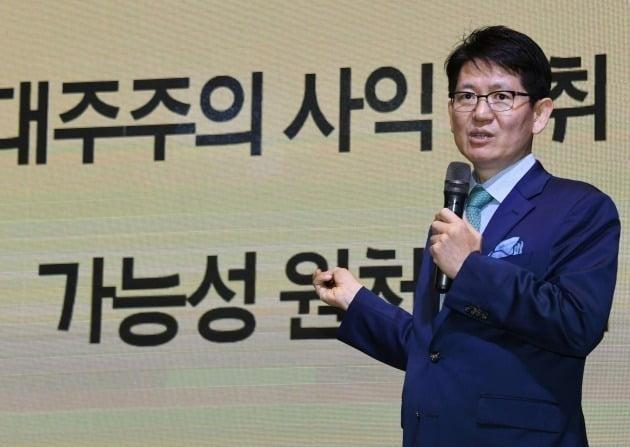 사진은 강성부 KCGI 대표. 사진=신경훈 한국경제신문 기자 khshin@hankyung.com