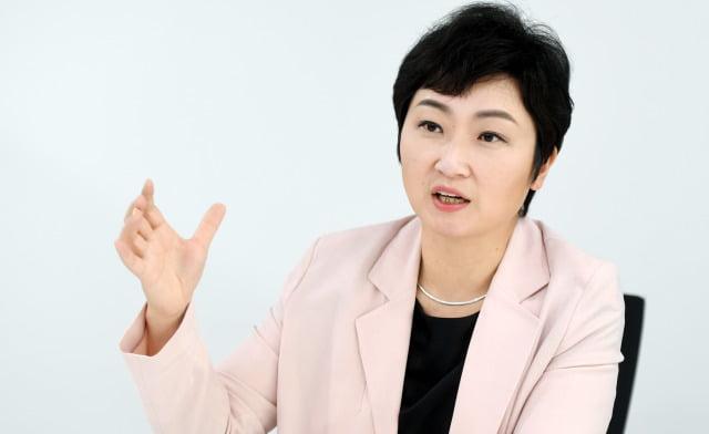 이언주 전 미래통합당(국민의힘 전신) 의원. 허문찬기자 sweat@hankyung.com