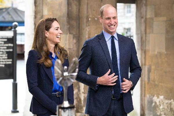 영국의 윌리엄 왕세손(오른쪽)과 그의 아내 케이트 미들턴. 사진 = 연합뉴스
