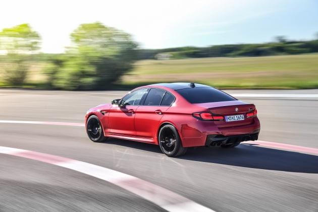 BMW 비즈니스 세단 뉴 M5 컴페티션. 사진 = BMW코리아 제공