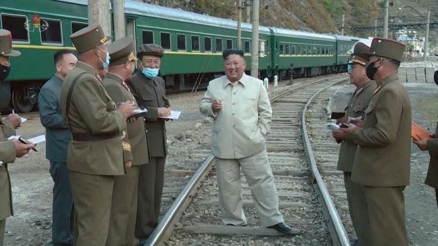 김정은 북한 국무위원장 [사진=조선중앙TV 화면·연합뉴스]