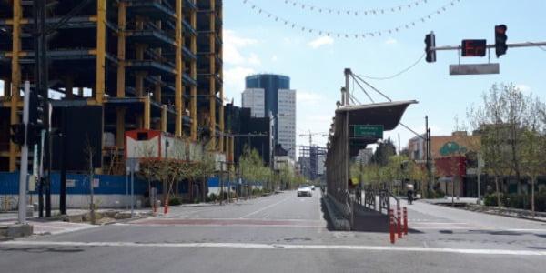 지난 4월 테헤란 시내 거리의 모습. /사진=연합뉴스