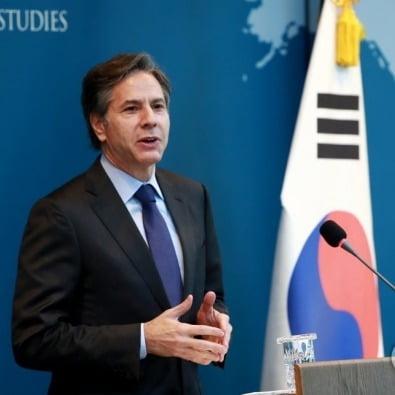 """[속보] """"김정은은 폭군"""" 비판한 바이든 책사, 美 국무장관 내정"""