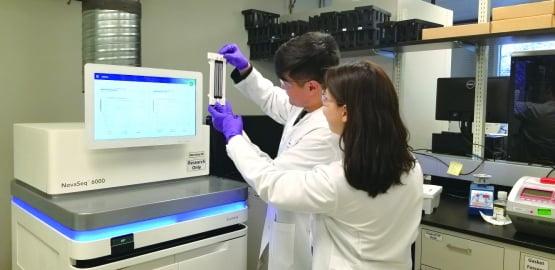 소마젠은 미국 유전체 분석 시장에서 우수한 분석 기술력을 인정받고 있다.