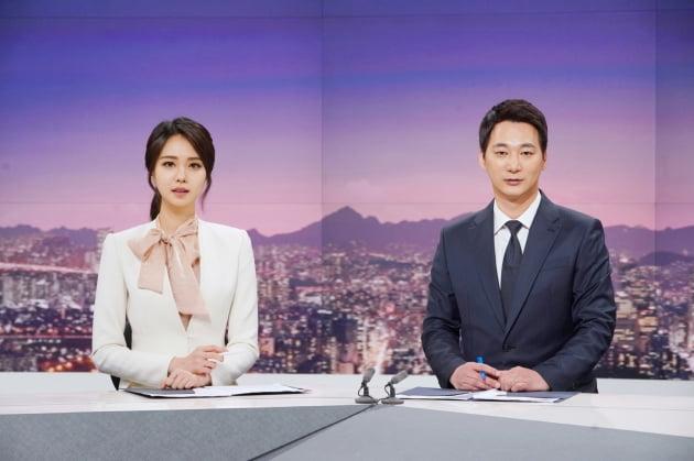 JTBC '뉴스룸' 서복현, 안나경 앵커/사진=JTBC
