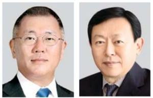 정의선 회장·신동빈 회장
